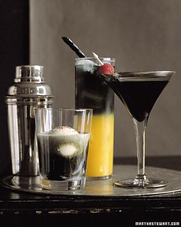 savvyhousekeeping halloween cocktails