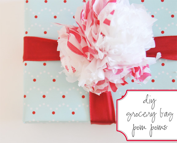 savvyhousekeeping From plastic bag to gift topper
