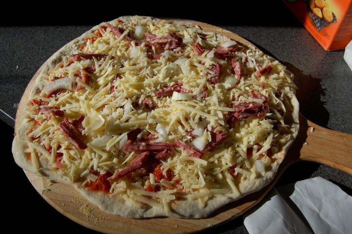 savvyhousekeeping homemade pizza dough freezer
