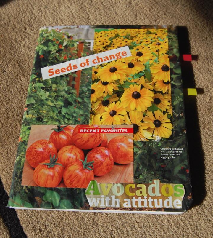 make a garden journal