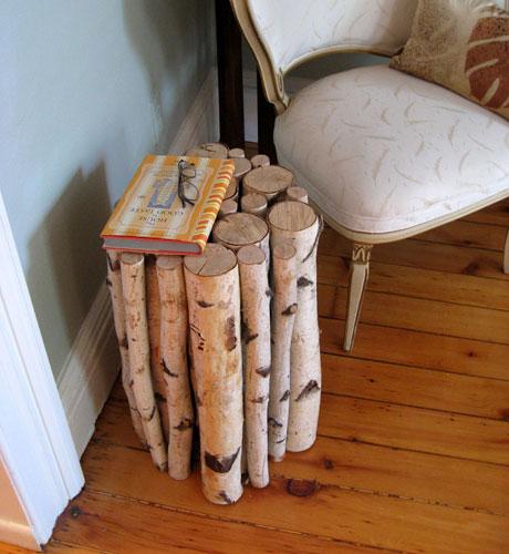 savvyhousekeeping 10 DIY projects logs wood slice