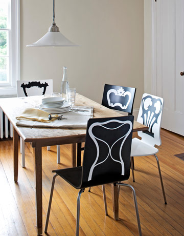 savvyhousekeeping chair decals