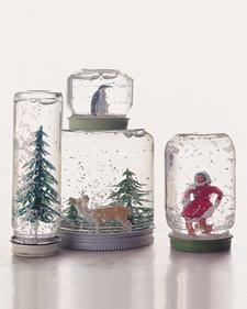savvyhousekeeping make your own snow globe