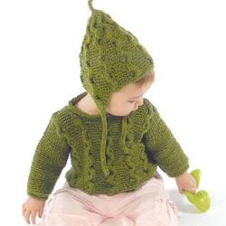 savvyhousekeeping baby green bean hat