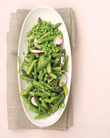 savvyhousekeeping vegetable side peas asparagus