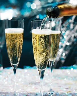 savvyhousekeeping low-calories cocktail champagne holiday