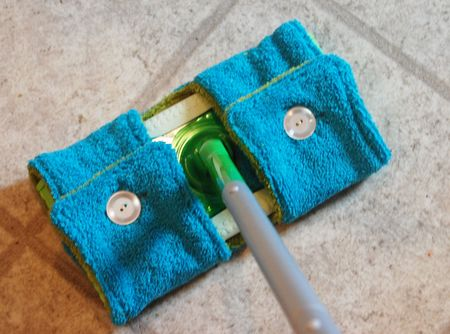 savvyhousekeeping make your own swiffer cover