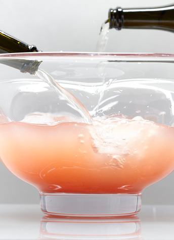 avvyhousekeeping champagne punch new year's