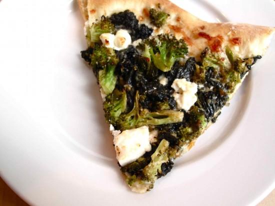 savvyhousekeeping chard pizza