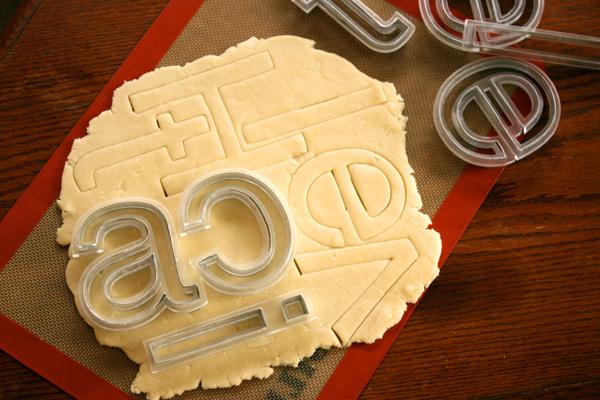 savvyhousekeeping helvetica cookie cutters