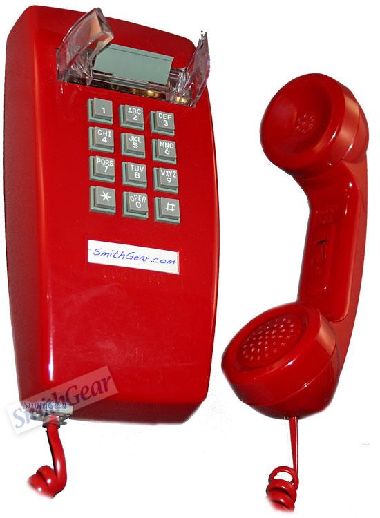 savvyhousekeeping red retro wall phones