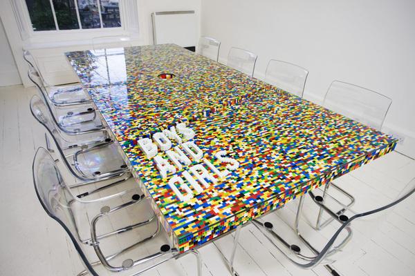 savvyhousekeeping pego boardroom table