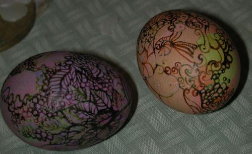 Pysanky savvyhousekeeping easter egg dye dying