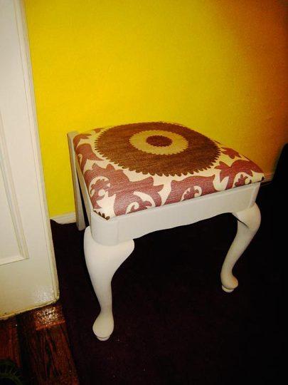 savvyhousekeeping chair to stool