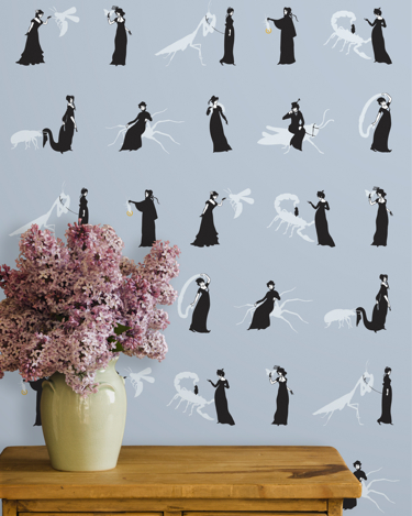 savvyhousekeeping ms ward wallpaper pattern insects science