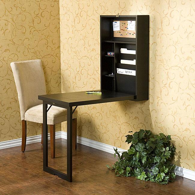 savvyhousekeeping small space murphy desk