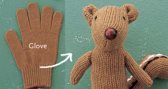 savvyhousekeeping from glove to stuffed chipmunk toy