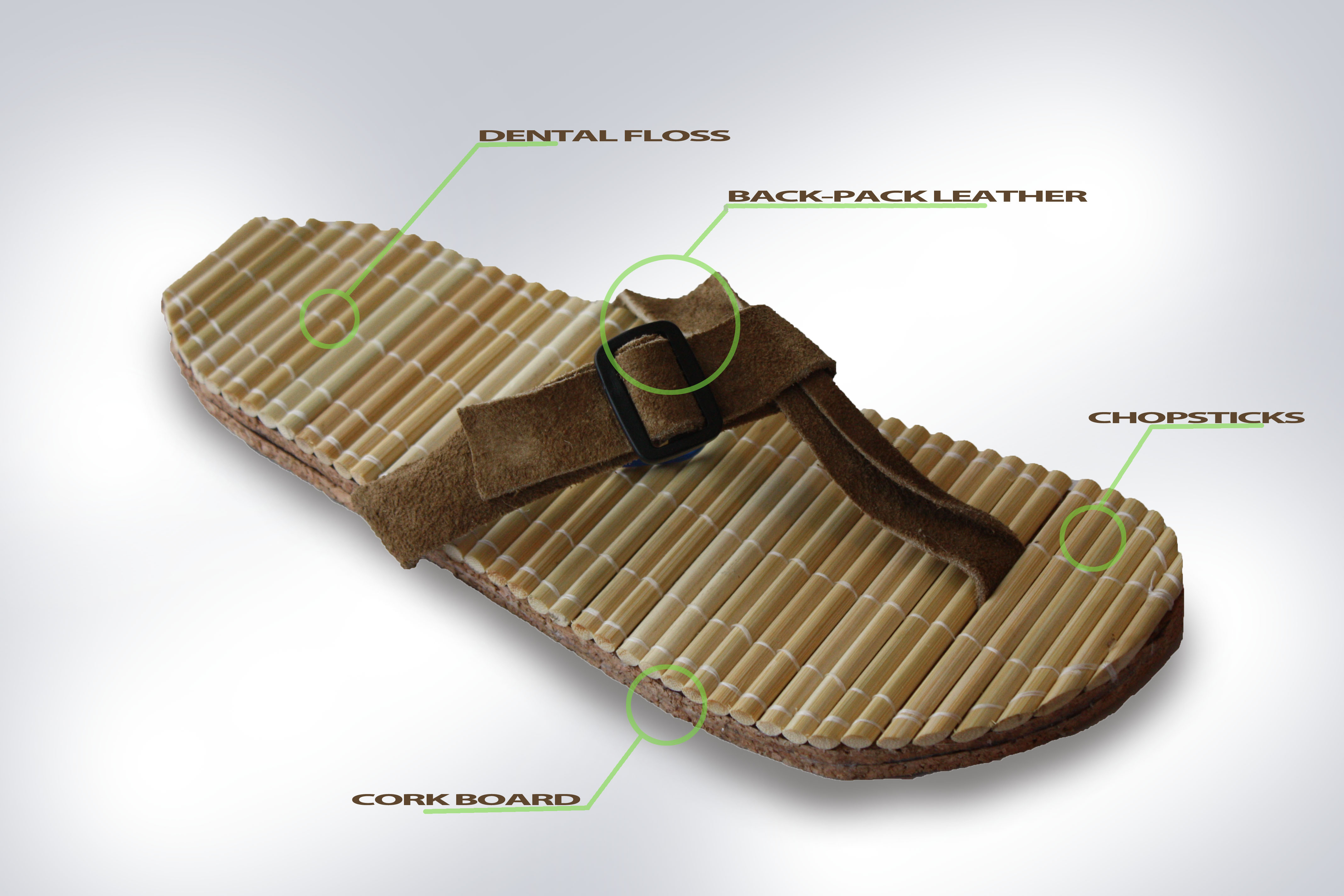 savvyhousekeeping design objects chop flops sandals chopsticks dental floss cork