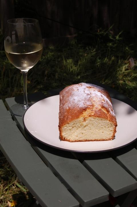 savvyhousekeeping lemon cake pound strawberry ice cream