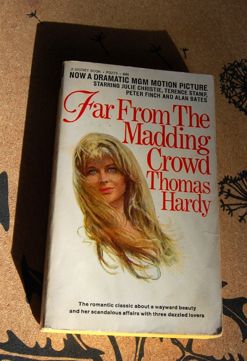 savvyhousekeeping thrift store finds old paperbacks far madding crowd thomas hardy