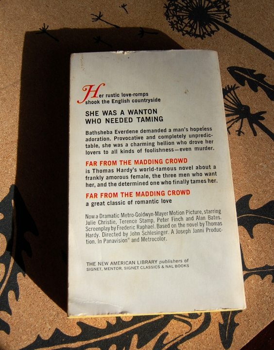 savvyhousekeeping thrift store finds old paperbacks far from madding crowd hardy