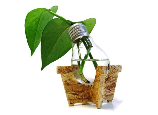 savvyhousekeeping design objects vase lightbulb