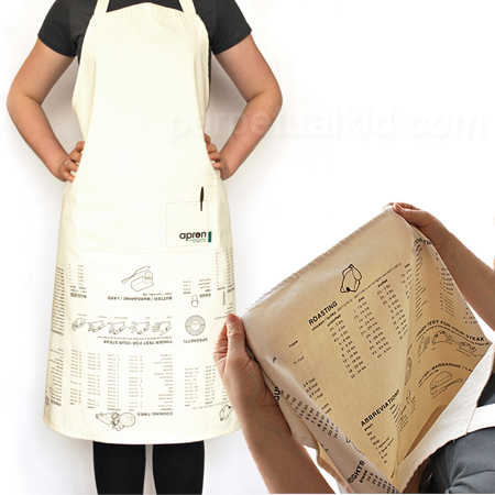 savvyhousekeeping apron cooking guide conversions upside down