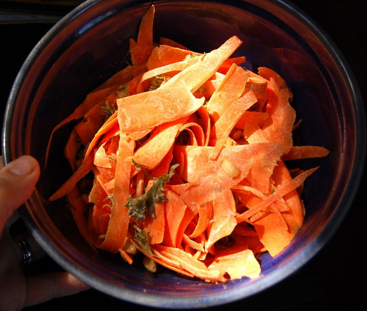 savvyhousekeeping carrot salad easy light cheap lunch