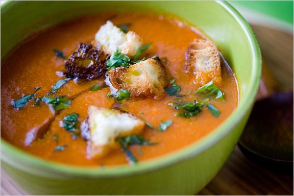 savvyhousekeeping soup recipes red pepper potato