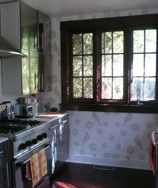 savvyhousekeeping renting cover covering a wall without painting fabric wallpaper removable cheap wood paneling