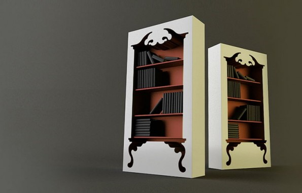savvyhousekeeping vintage bookshelf bookcase