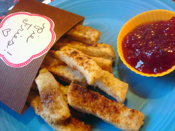 savvyhousekeeping pie fries using up dough