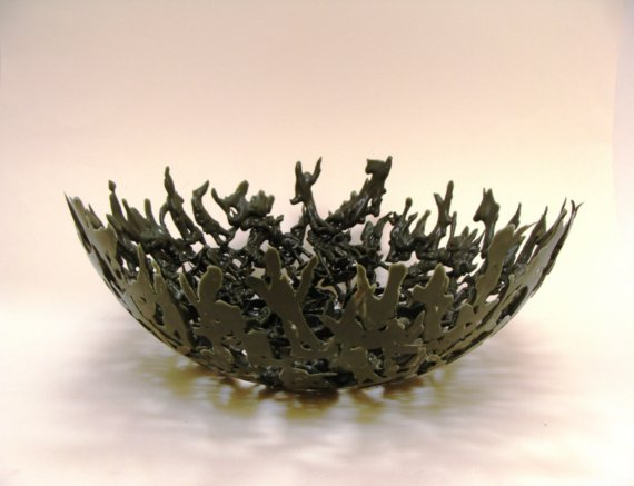savvyhousekeeping melted army man bowl make your own
