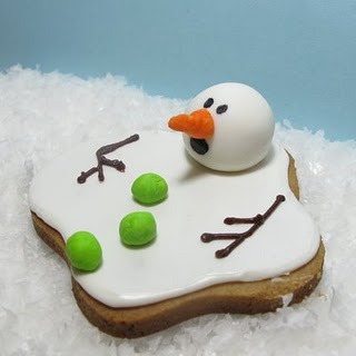 savvyhousekeeping melted snowman christmas cookies funny