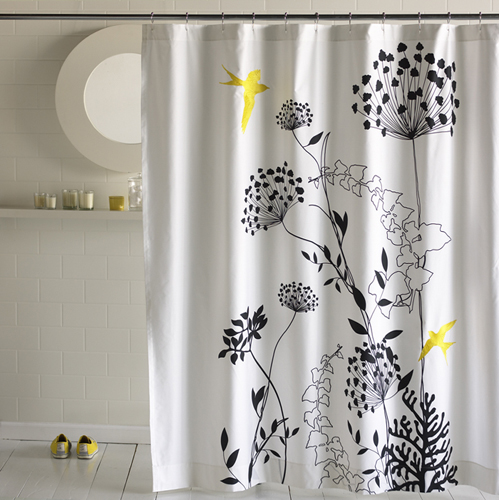 savvyhousekeeping cool nature tree flowers shower curtains