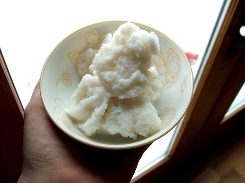 savvyhousekeeping make snow cream ice cream