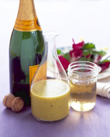 savvyhousekeeping what to do with leftover flat champagne vinegar vinaigrette