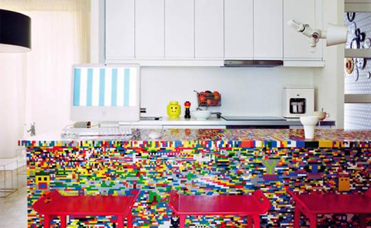 savvyhousekeeping kitchen island made from legos ikea hacks