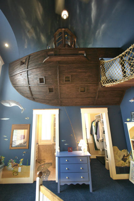 savvyhousekeeping amazing kid's rooms children's ideas decoration pirate theme boat