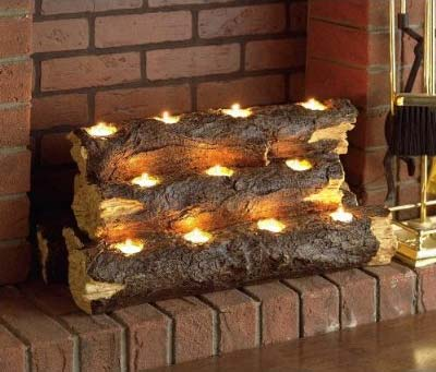 savvyhousekeeping log lights