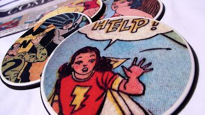 savvyhousekeeping 10 more diy christmas presents gifts comic book coaster
