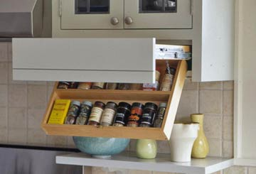 savvy housekeeping » 7 clever kitchen storage ideas Cool Kitchen Storage Ideas