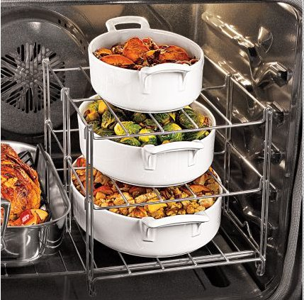 savvyhousekeeping multi tier oven rack thanksgiving