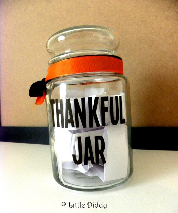savvyhousekeeping thanksgiving thankful jar